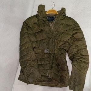 Tommy Hilfiger Olive Puffer Jacket